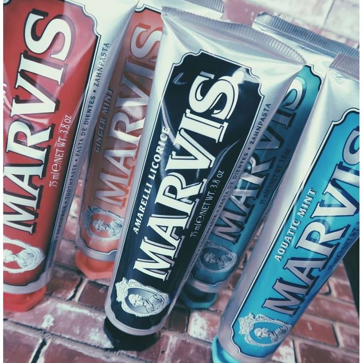 Marvis Toothpastes