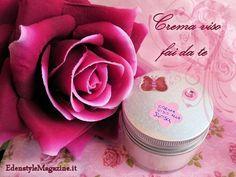 Crema viso fai da te alla rosa - DIY
