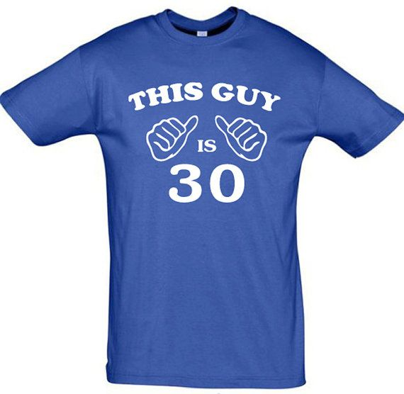 This guy is 30any yearmen t shirt30th birthday gift by TeeShirts24, €9.60