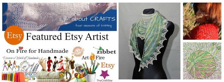 aboutCRAFTS is this weeks On Fire for Handmade Featured Etsy Artist. You will find hand knit and crochet fashions in this Etsy Shop!