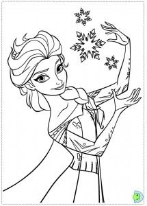 Frozen Coloring Page Elsa 215x300 FREE Printable Activity Pages Plus Computer