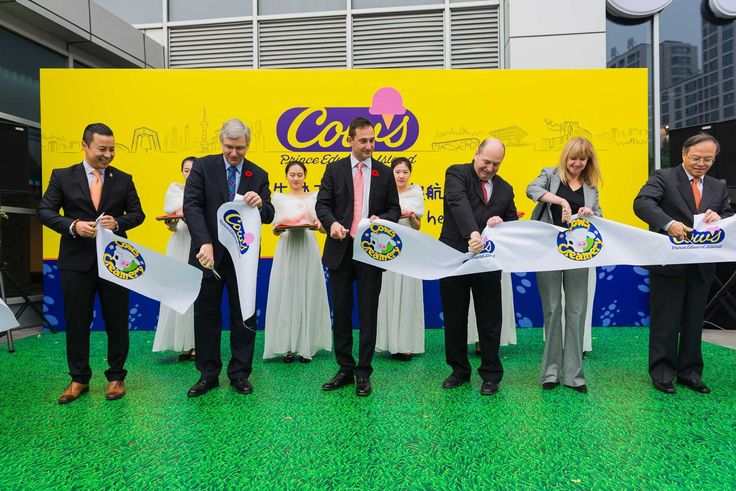 COWS Ice Cream opens its first store in Beijing, China. 2014. http://www.theguardian.pe.ca/News/Local/2014-10-31/article-3923680/Cows-moo-ves-into-Chinese-market/1