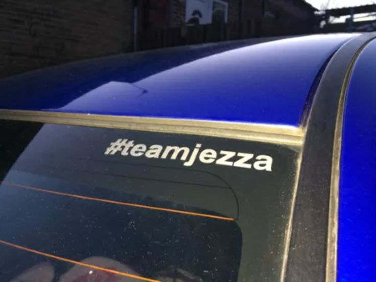 Support clarkson and stick a teamjezza graphic on your car