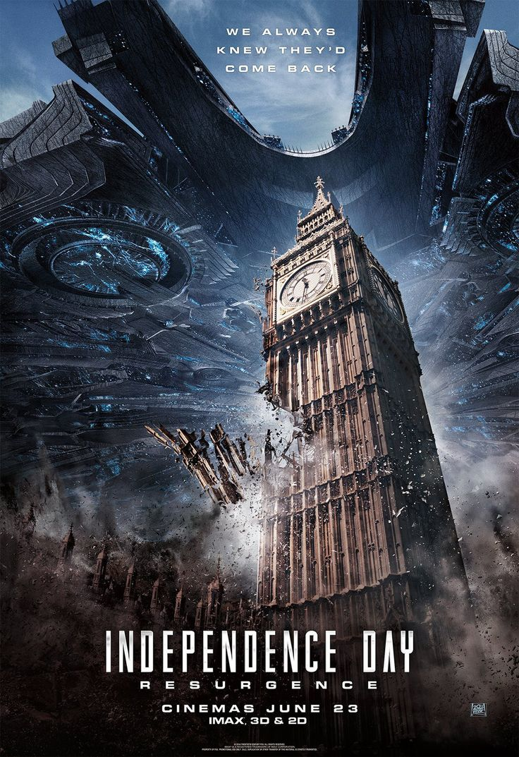 "They had 20 years to develop a sequel for ""Independence Day: Resurgence"" (2016)…"