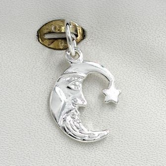 Man in the Moon Charm - chr-1114