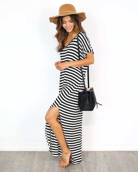 Perfect silhouette maxi dress