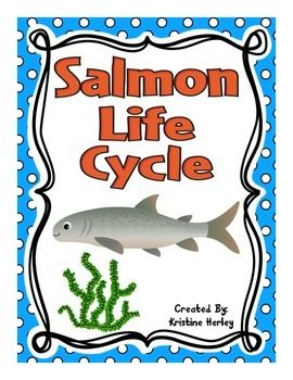 Salmon Life Cycle:This resource contains 12 different activities focused on the life cycle of a salmon. All of the activities are available in COL0R and BLACK and WHITE!!! ****Please check out the preview for more details.
