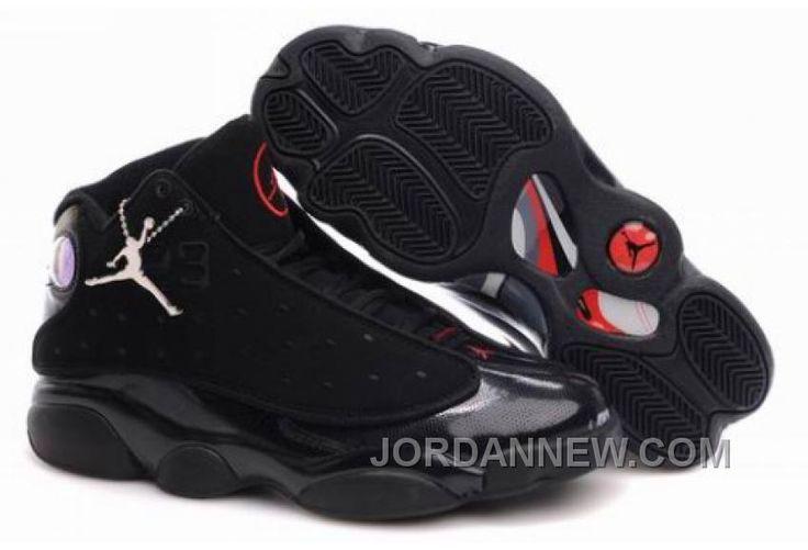 http://www.jordannew.com/mens-nike-air-jordan-13-shoes-all-black-new-style-h5fymc.html MEN'S NIKE AIR JORDAN 13 SHOES ALL BLACK NEW STYLE H5FYMC Only 88.80€ , Free Shipping!