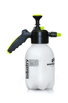 INDUSTRY 1000, 1500 and 2000 are modern, hand pressure sprayers with capacities of 1,0, 1.5 and 2.0 liters. Perfectly suited for application of cleaning and disinfecting various surfaces and spaces. Ideally suited for car washes.  We have them in two versions: with Viton seals and with EPDM seals.