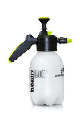 INDÚSTRIA 1000, 1500 e 2000 são modernos, pulverizadores de pressão de mão com capacidades de 1,0, 1,5 e 2,0 litros. Perfeitamente adequado para a aplicação de limpeza e desinfecção de superfícies e espaços diversos. Ideal para lavagens de carro.