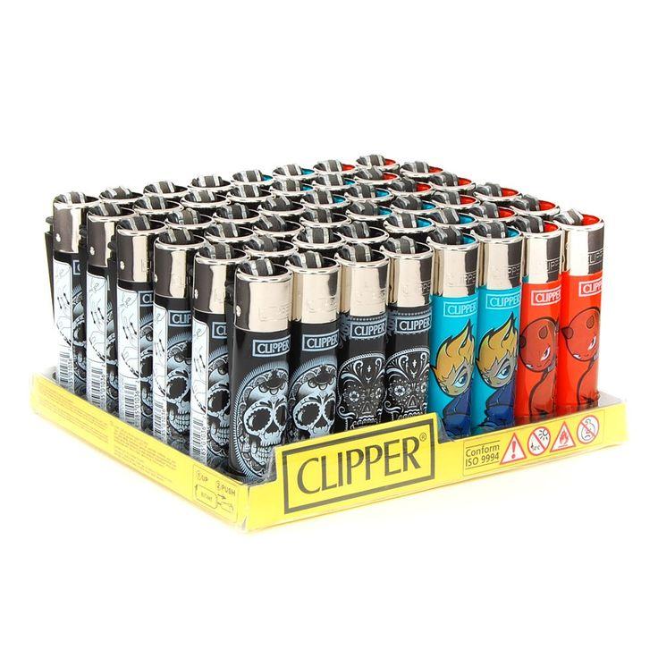 Clipper Lighter Skulls Design