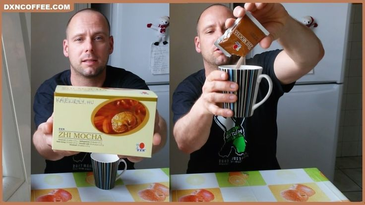 DXN Zhi Mocha: Ganoderma cocoa coffee for sweet tooth