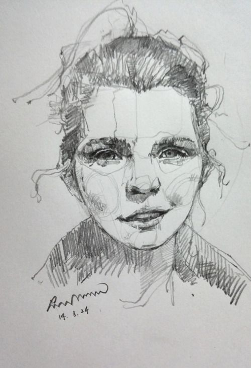 1st face drawing.  Thank you so much Ellen :)  Lots of love!