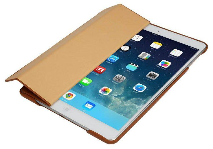 iPad Air Leather Smart Case – Handmade Genuine Leather JisonCase – Brown