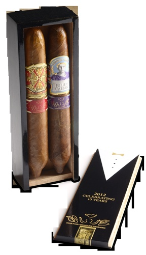 """Legends of Fire is proud to be a part of Cigar Family Charitable Foundation's """"Toast Across America"""" fundraiser! TOA is in its 10th year and we have only 15 cigar packages. Each box comes with an Opus X Figurado and a Julius Caeser Figurado. 100% of every dollar gets donated. For more info: https://www.facebook.com/photo.php?fbid=10151370480801177=a.10150677390971177.457162.292950816176=1"""