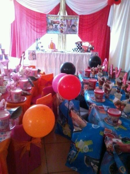 Are you looking for a 1 stop party planner , to take care of all your needs ... well here i am i have tailor made kids themed party packages to suit you ... yes you the working mom or dad , who doesn't have the time or resources to source the goods or services required for a party im here to assist you and make this birthday party a huge success view our Facebook page for specials, packages , pictures and so much more kiddies themed parties with a difference please paste this into your ...
