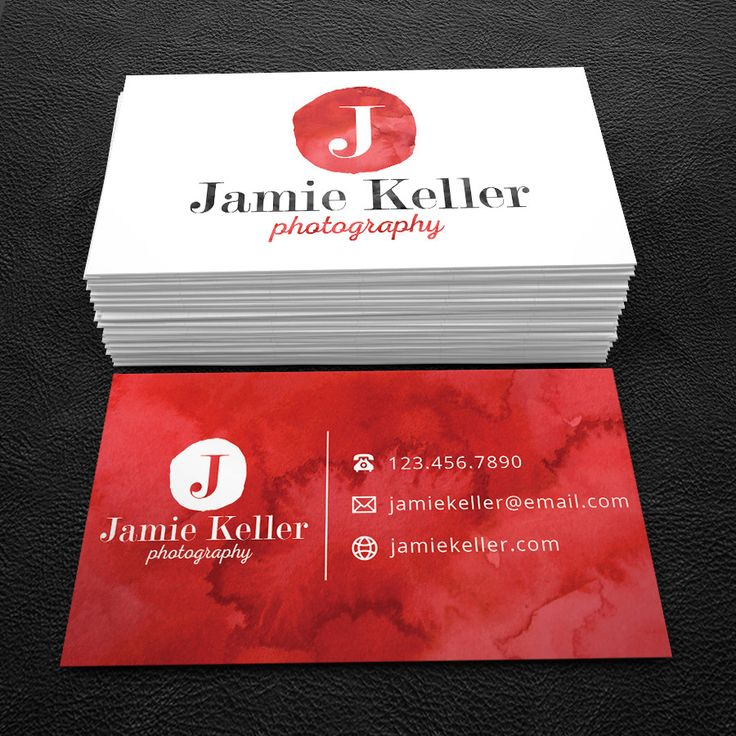 Really neat Premade Business Card Design - Print Ready - Printable Business Card - White and Red Ribbon - PDF & JPEG - 300 DPI 30.00 USD from BrandiLeaDesigns business card calling card premade design graphic design template custom professional business card design DIY photography simple watercolor http://ift.tt/1KettjY