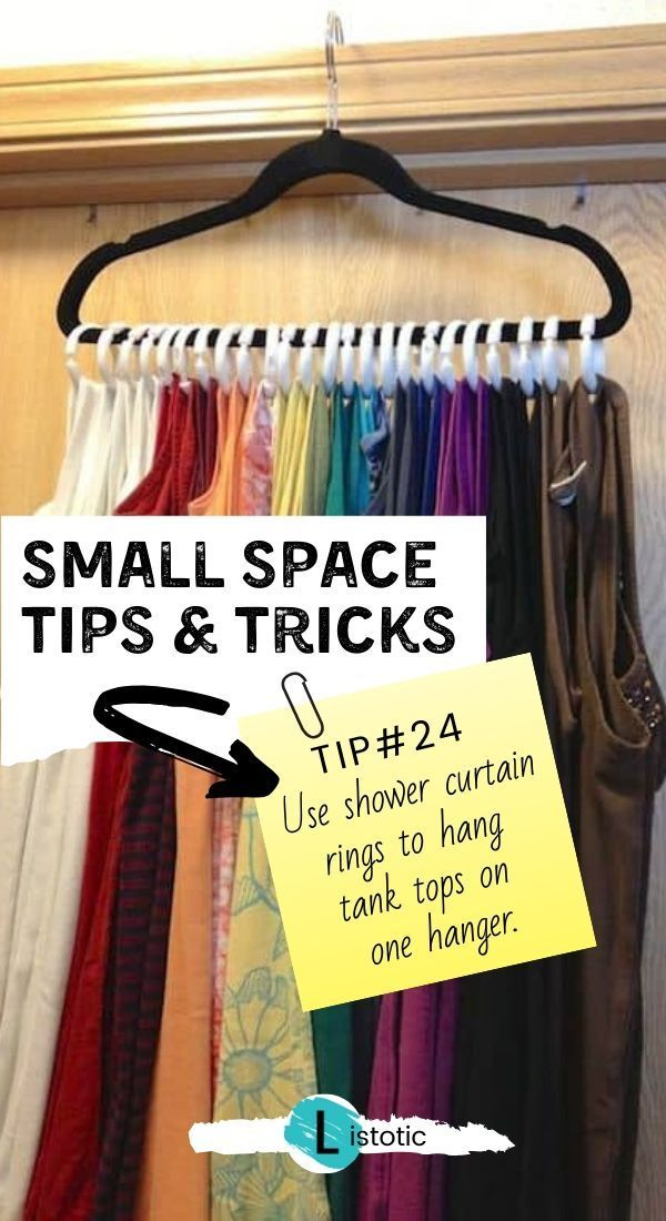 29 Sneaky Diy Small Space Hacks For Storage And Organization In 2020 Small Space Diy Small Space Hacks Small Space Storage