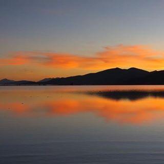 Leather Statement Clutch - Deep Water Sunrise by VIDA VIDA G191CRnf7
