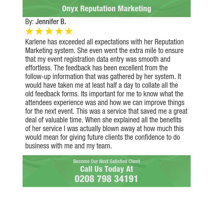 Karlene has exceeded all expectations with her Reputation Marketing system. She even went...