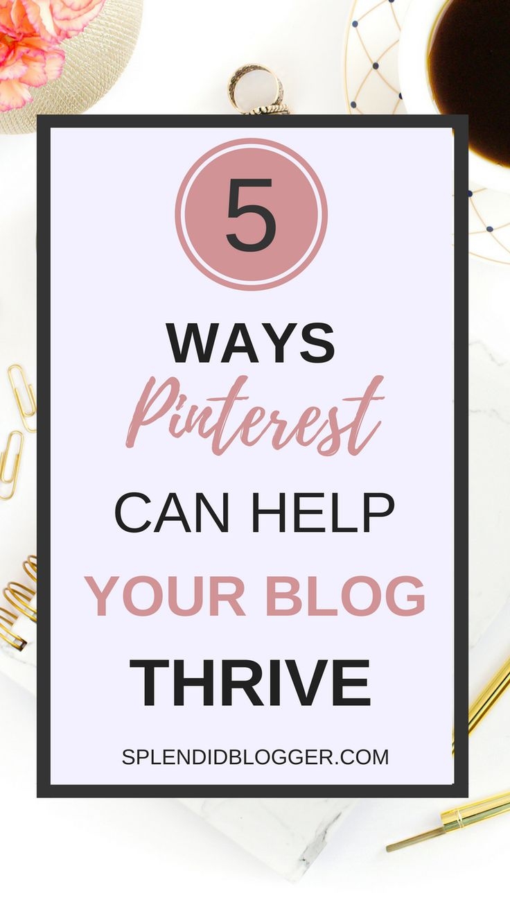 Ready to watch your blog grow? Click through to see some of the awesome ways Pinterest can help you grow your blog into a successful blog. | Splendidblogger.com