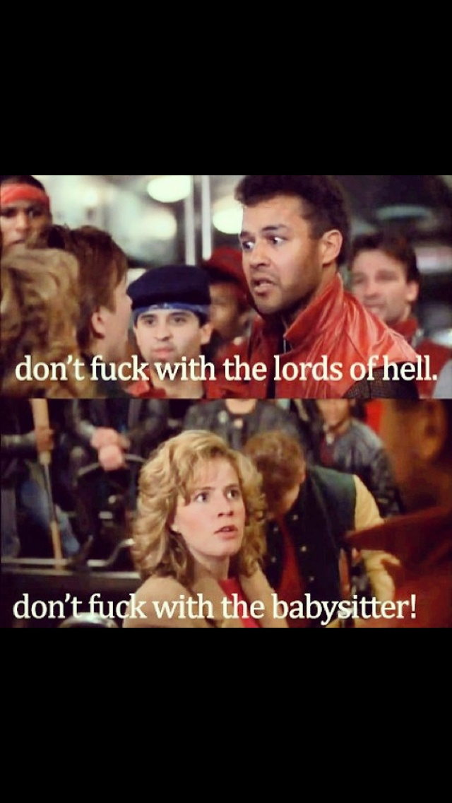 Adventures in Babysitting-- saw it in the theater when I was 10. Life changing, people. Not kidding.
