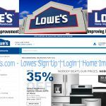 www.lowes.com - Lowes Sign Up | Login | Home Improvement
