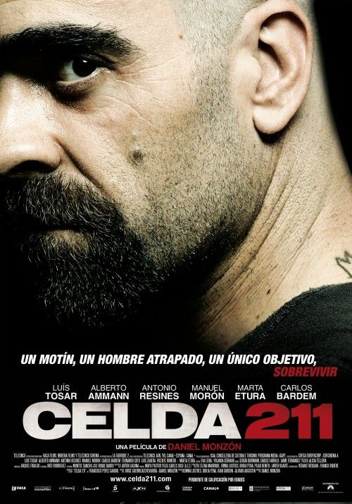 """Celda 211"" (2009) - a Spanish-French prison film directed by Daniel Monzón."