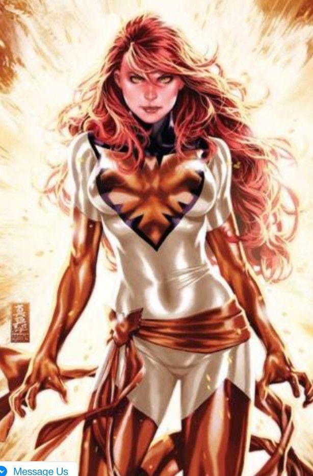 Fénix Phoenix Wallpaper Comic Dccomic Marvel Héroes