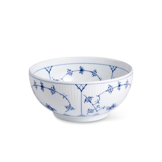 Royal Copenhagen Blue Fluted Plain Bowl, 110 cl