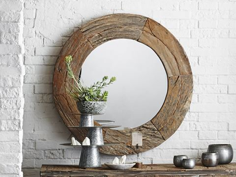 Hand crafted mirrors for designer homes - rustic, contemporary, eclectic - ArtisanCraftedHome.com has everything you'll need!