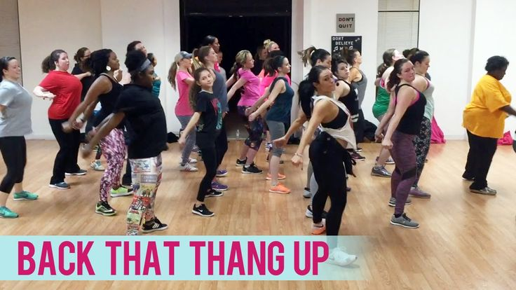 Juvenile - Back That Thang Up ft. Lil Wayne (Dance Fitness with Jessica)