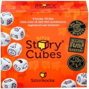 5. helyezett: Sztori Kocka ...a mesegyár! Rengetek kiegészítő kockával a legjobb játszani ;-) #storycube #okosodjvelunk