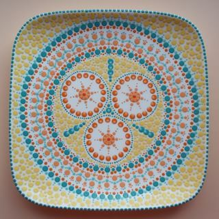 Dip & Dot Pattern: Ring circle with small circles in it