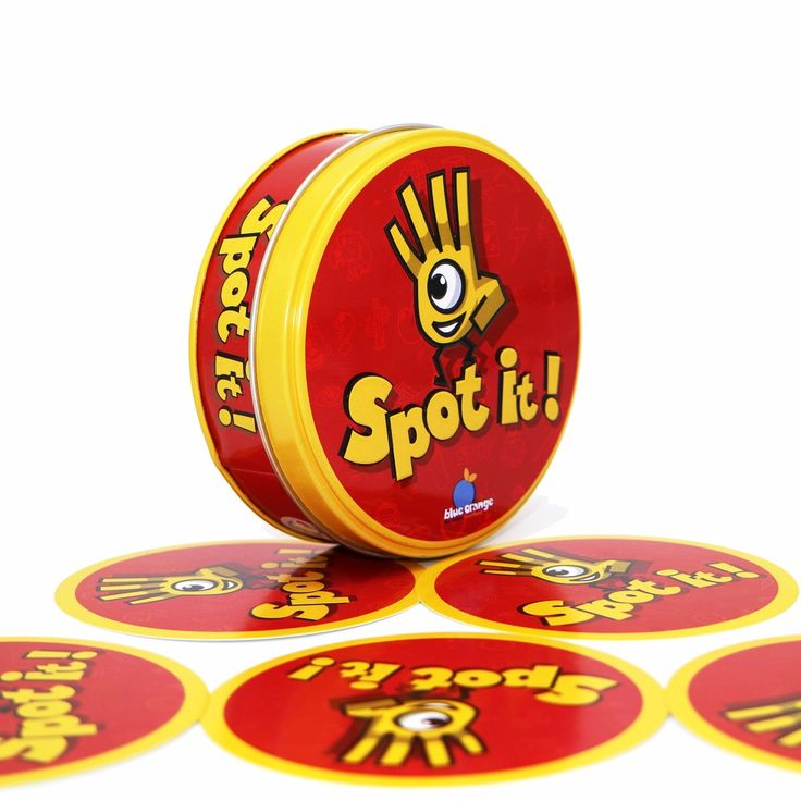 spot dobble find it board game for children, fun with family gathering, the animals paper quality card, box mtg proxy  Price: 6.87 USD