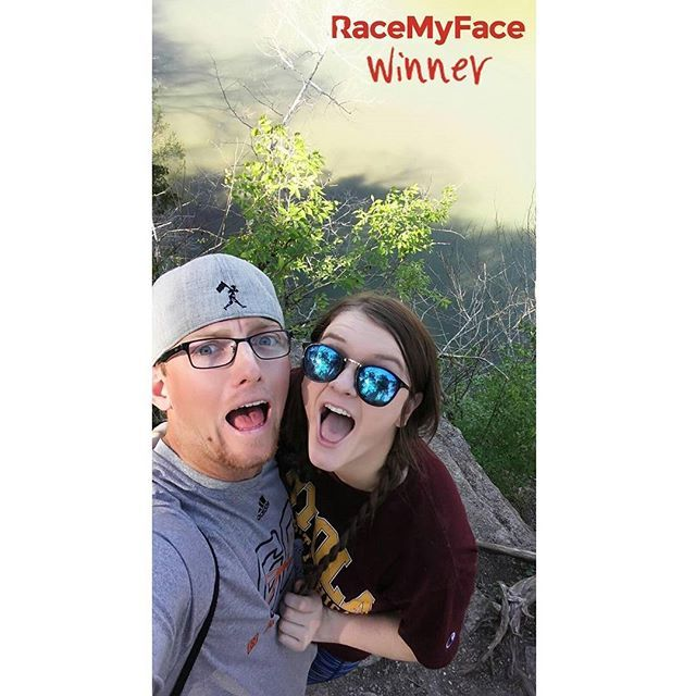 "A great selfie in the nature with a loved one - ""Save the Earth"" contest's winner is a a nice grimace-hug-sunglasses-baseballhat-inthenature selfie combination! :) Get the app now!  Appstore: www.asmileppstore.com/RaceMyFace  Play Store: goo.gl/R1mwSM  #RaceMyFace #RaceMyFaceWinner #selfiecontest #winwithyourselfie #selfie #selfies #prizes #selfietime #selfienation #winner #inthenature #sunglasses #grimace #baseballhat #hug"
