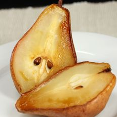 Roasted Pears with Maple Crunch. Can't wait to try this when my trees actually start producing.