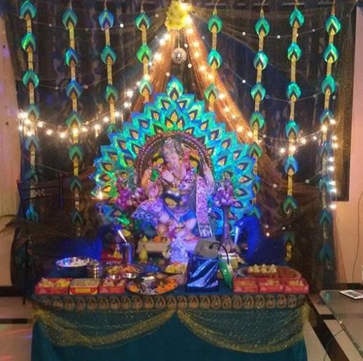 161 Best Images About Ganpati Decoration Ideas On Pinterest