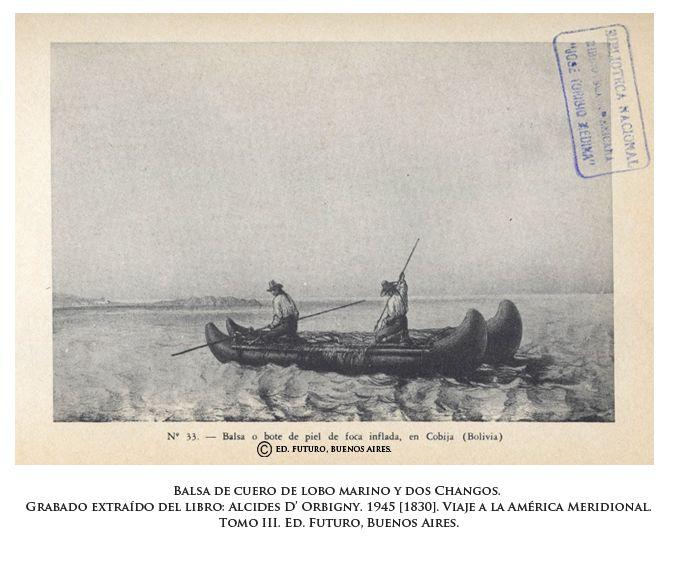 Andinos » Blog Archive » La balsa de cuero de lobo marino como marcador étnico de los Changos