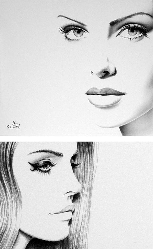 Hand Drawn Illustrations by Ileana Hunter