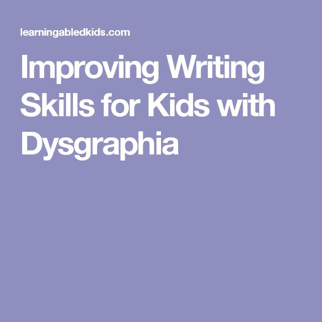 essay writing skills for dyslexics An explosion of apps for dyslexia is opening new doors for students and adults alike reading, writing and notetaking have never been easier.