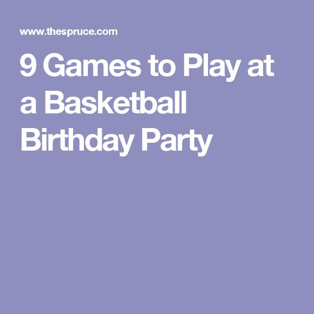 25+ Best Ideas About Basketball Birthday Parties On