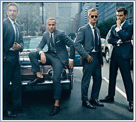 Suits.Wedding Parties, Grooms Style, Inspiration, Men Style, Men Fashion, Thom Browne, Gentleman Style, Group Photos, Men Wear