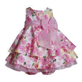 So many cute ones!! Can't decide... Newberry(TM/MC) Girl's Floral Tired Shantung Dress with Panty - Sears
