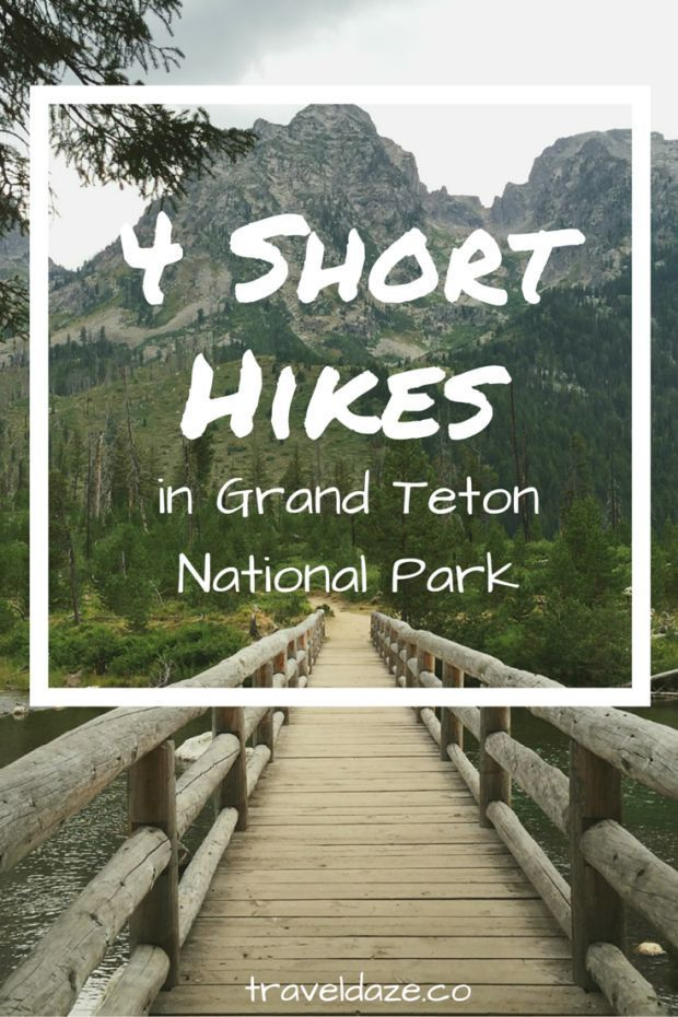 4 Short Hikes in Grand Teton National Park // Travel Daze