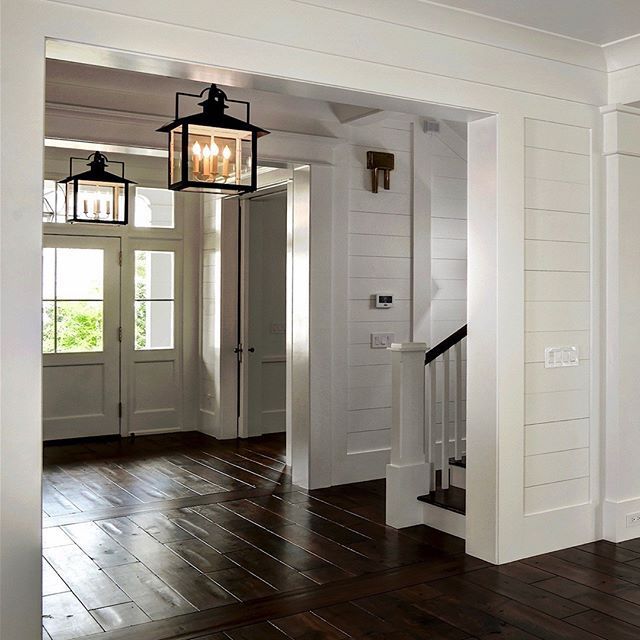 Entry / Foyer Leading to the Charleston Style Garden / Wando River / Screened…