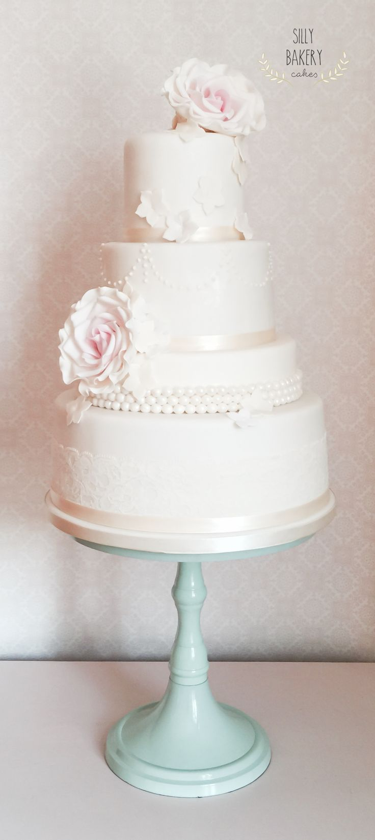 Vintage Wedding Cake Cakestand Silly Bakery Silly