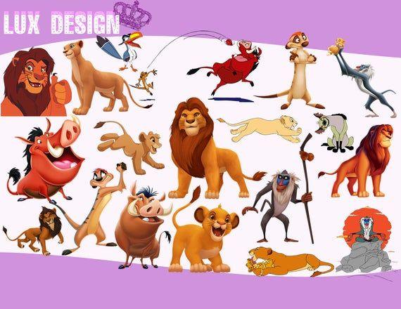 109 The Lion King Clipart Png Images 300dpi Digital Clip Etsy Lion King Png Images Clip Art