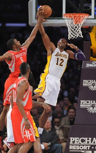 11/18/12 Lakers vs. Rockets Gallery