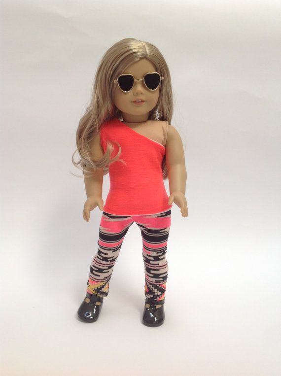 American girl doll clothes AG Aztec leggings by EliteDollWorld